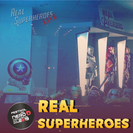 Real Superheroes LIVE